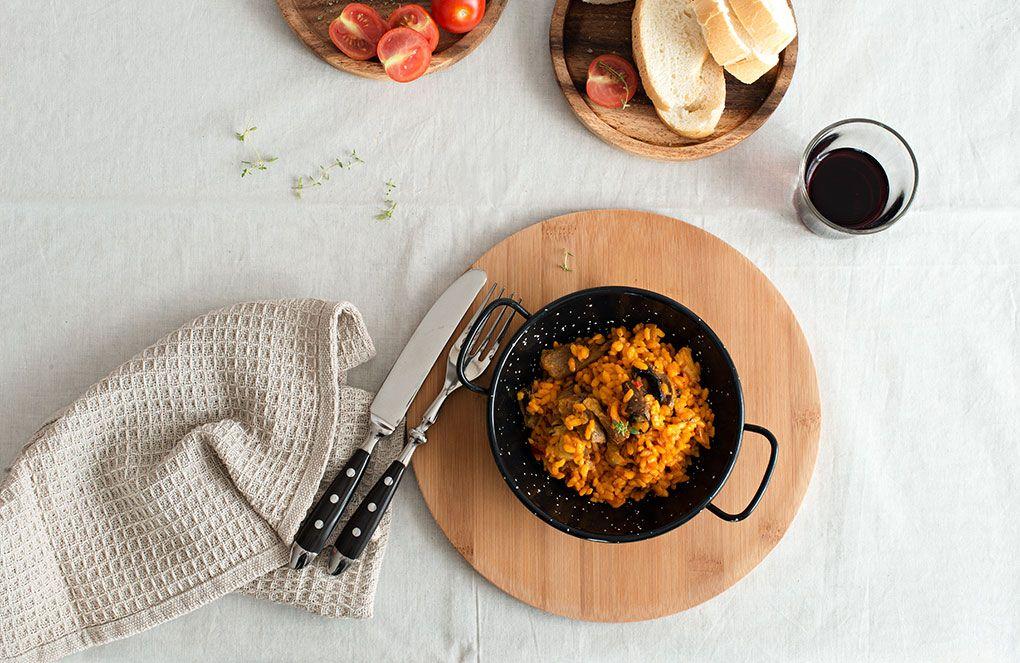 Fotografía gastronómica y estilismo para la web: miplato.es