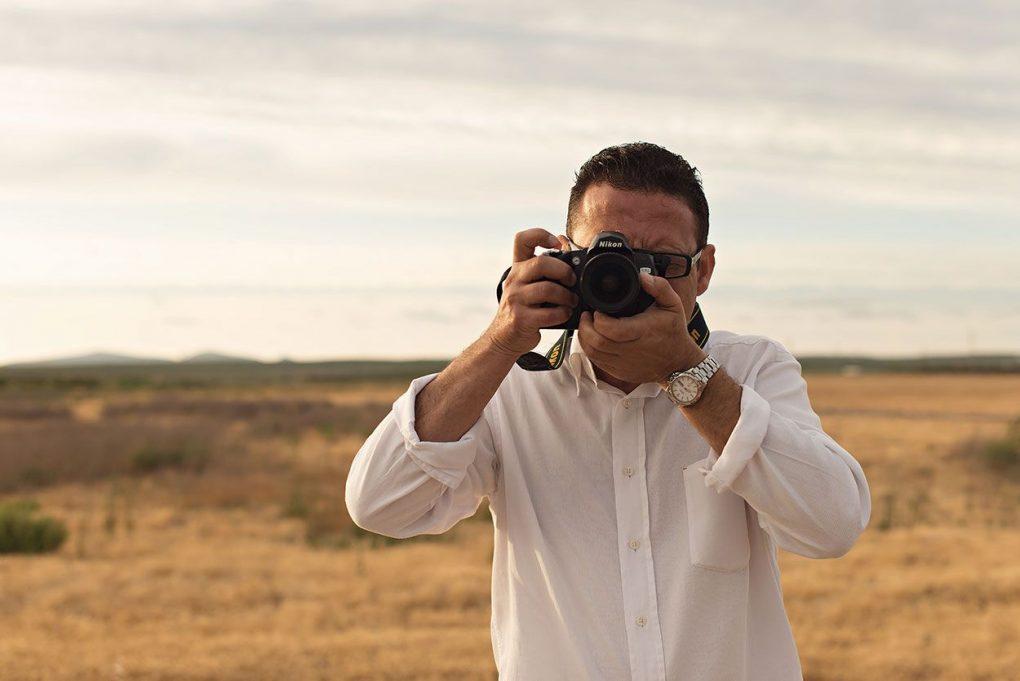 fotógrafo de retratos
